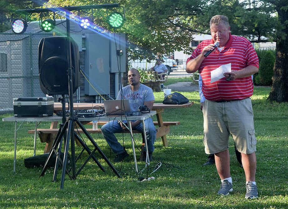 Photos from the National Night Out for crime and drug prevention. Photo: Marco Cartolano| Journal-Courier