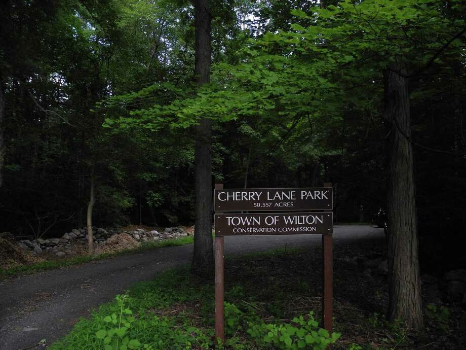 Cherry Lane Park is an option for people looking for somewhere to walk other than the Norwalk River Valley Trail. Photo: Jeannette Ross / Hearst Connecticut Media / Wilton Bulletin