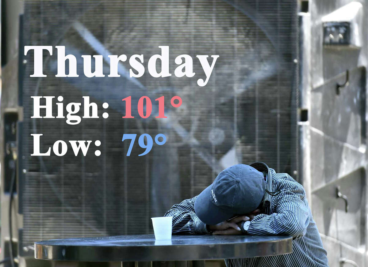 The San Antonio area is under another heat advisory from noon to 7 p.m. Thursday. Click through for the forecast.