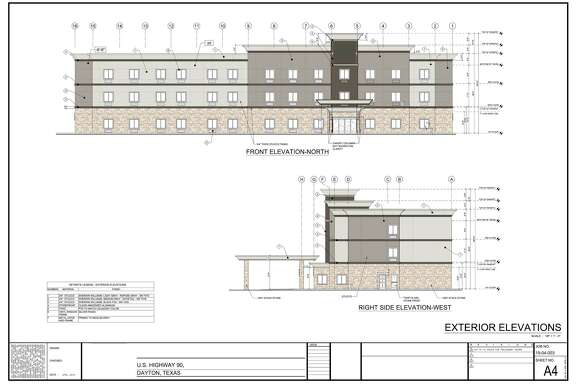 The elevation of the new Dayton hotel with both a front and side view has been approved by city council and is set for construction to begin. The Liberty hotel will have a similar look but just a little bit smaller.
