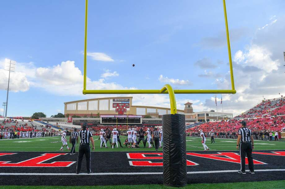 The Texas Tech Red Raiders convert the extra point during the game against the Lamar Cardinals on September 08, 2018 at Jones AT&T Stadium in Lubbock, Texas. (Photo by John Weast/Getty Images) Photo: John Weast/Getty Images