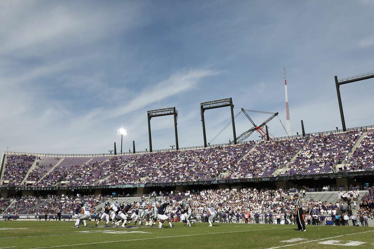Texas Christian University Stadium: Amon G. Carter Conference: Big 12 Alcohol: TCU athletic director Jeremiah Donati announced on Twitter Tuesday that the school will sell beer beginning this fall. TCU will offer approximately eight beer selections, all Miller Coors brands for $7 each, available for purchase at all concession stands from the time gates open two hours before kickoff until the start of the fourth quarter, the Star Telegram reported. >>> See which Texas college football stadiums sell alcohol ...
