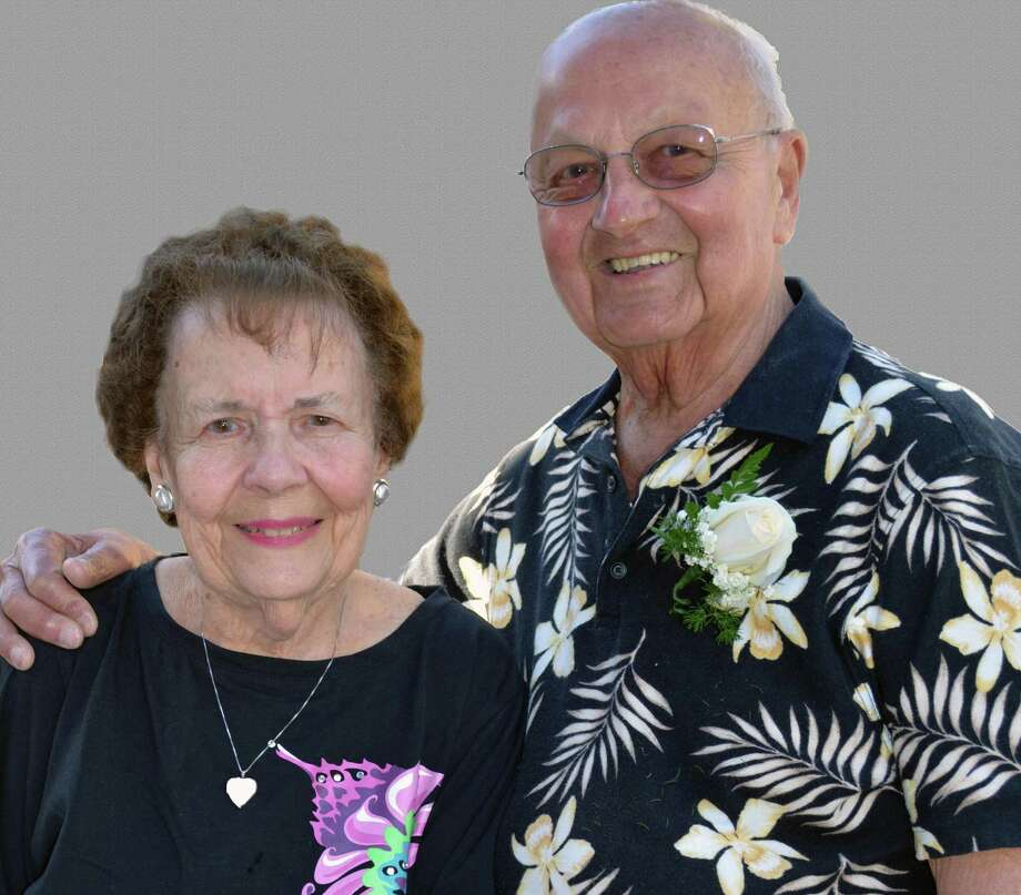 Fred and Arlene Mayernik celebrated their 60th wedding anniversary this year. Photo: Contributed Photo / Debra Baker