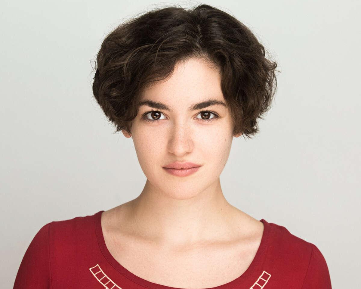 Hannah Cruz plays Eliza Hamilton in