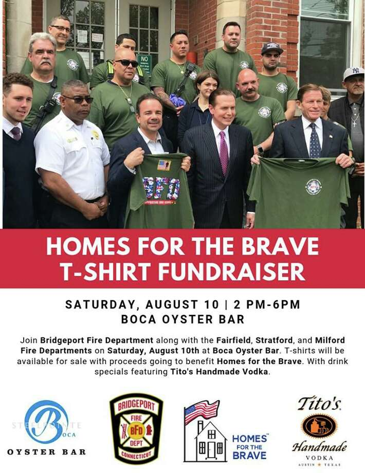 City firefighters are holding a fundraiser Saturday to support a non-profit that combats homelessness. Photo: Bridgeport Fire Department