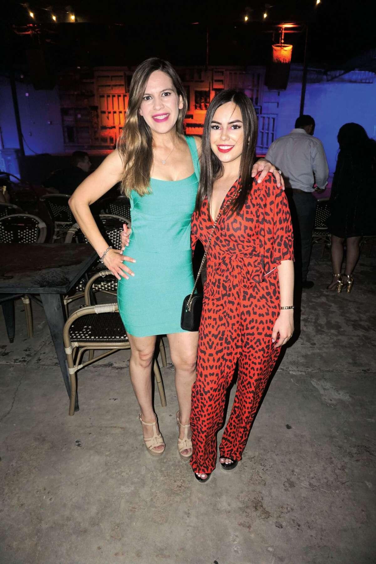 Maritza Garcia and Kristen Davila at Siete Banderas
