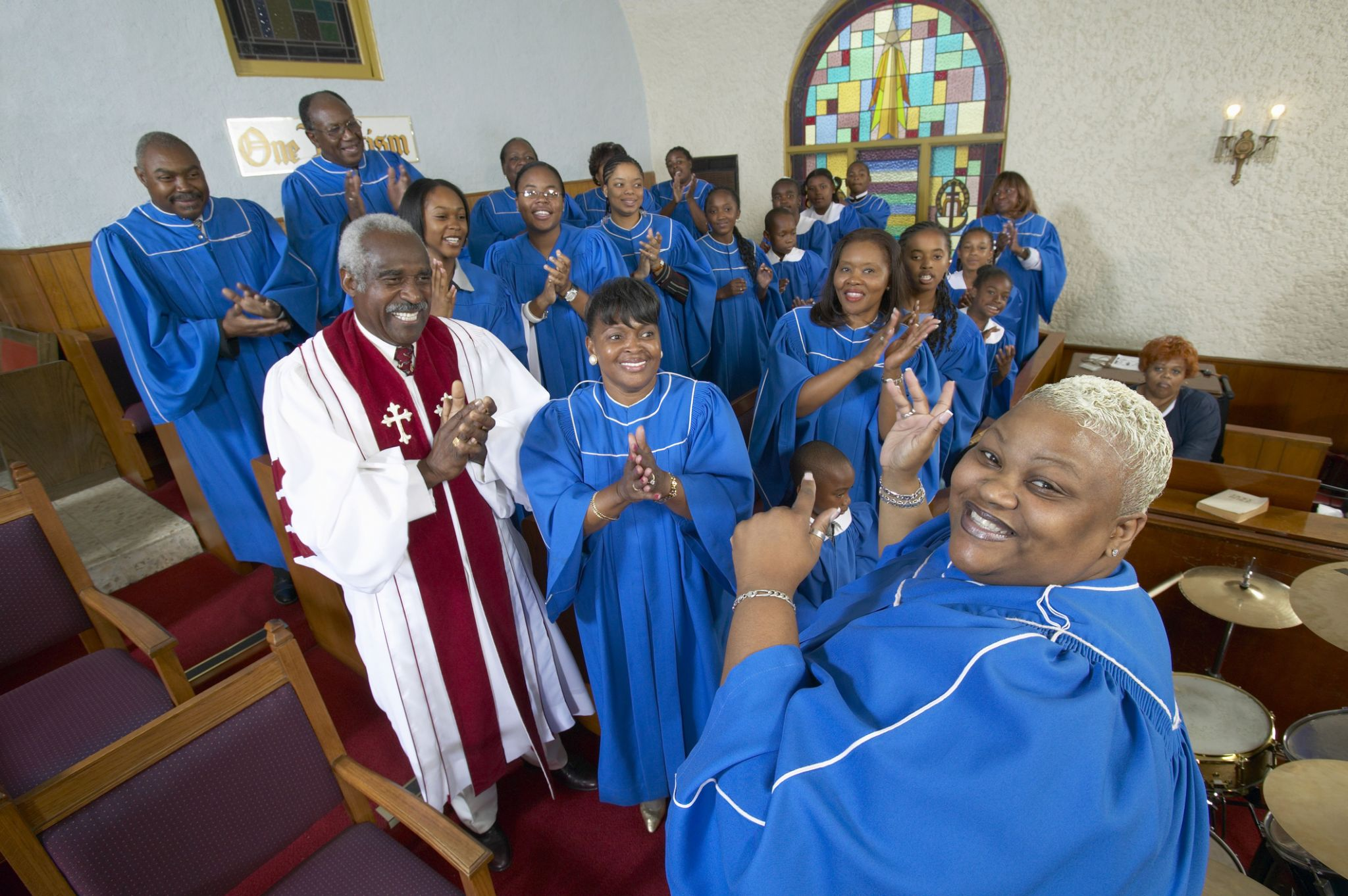 40 person gospel choir etiquette - HD2048×1363