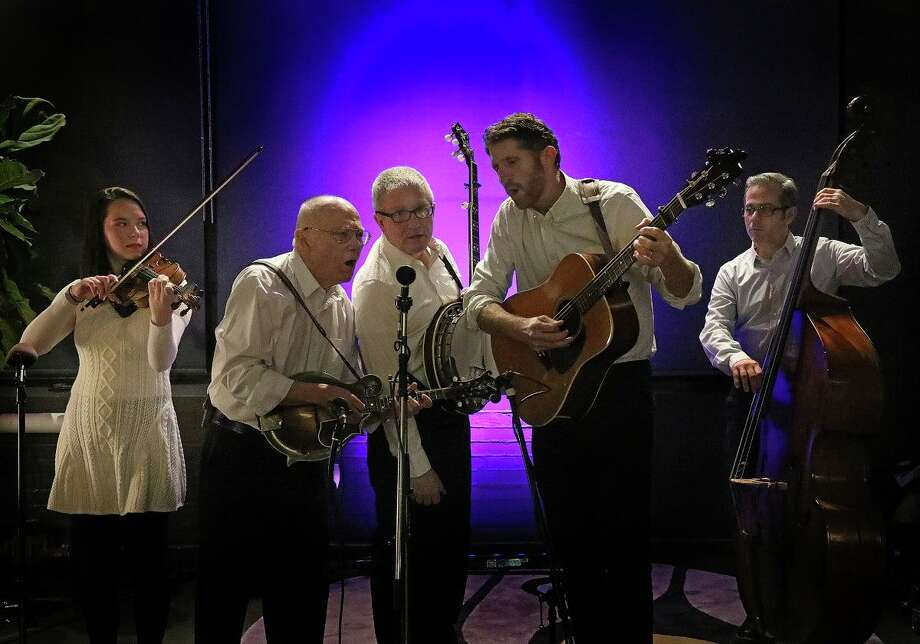 On The Trail will perform at the First Congregational Church's Bluegrass Coffeehouse and Open Bluegrass Jam later this month. Photo: Contributed /