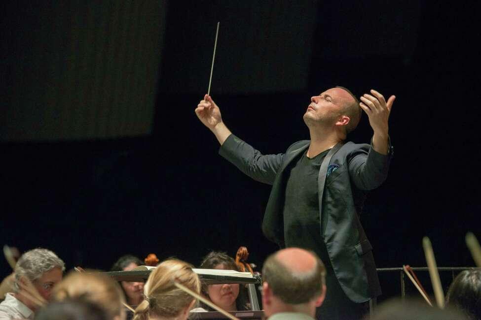 Yannick Nezet-Seguin conducting the Philadelphia Orchestra (Jan Regan / image courtesy SPAC) The Philadelphia Orchestra, Saratoga Performing Arts Center, 108 Avenue of the Pines Saratoga Springs. 8 p.m. Thursday.