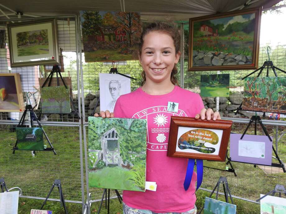 This year's Art in the Park Festival takes place at Weir Farm on the Ridgefield/Wilton border on Aug. 25. Photo: National Park Service / Contributed Photo