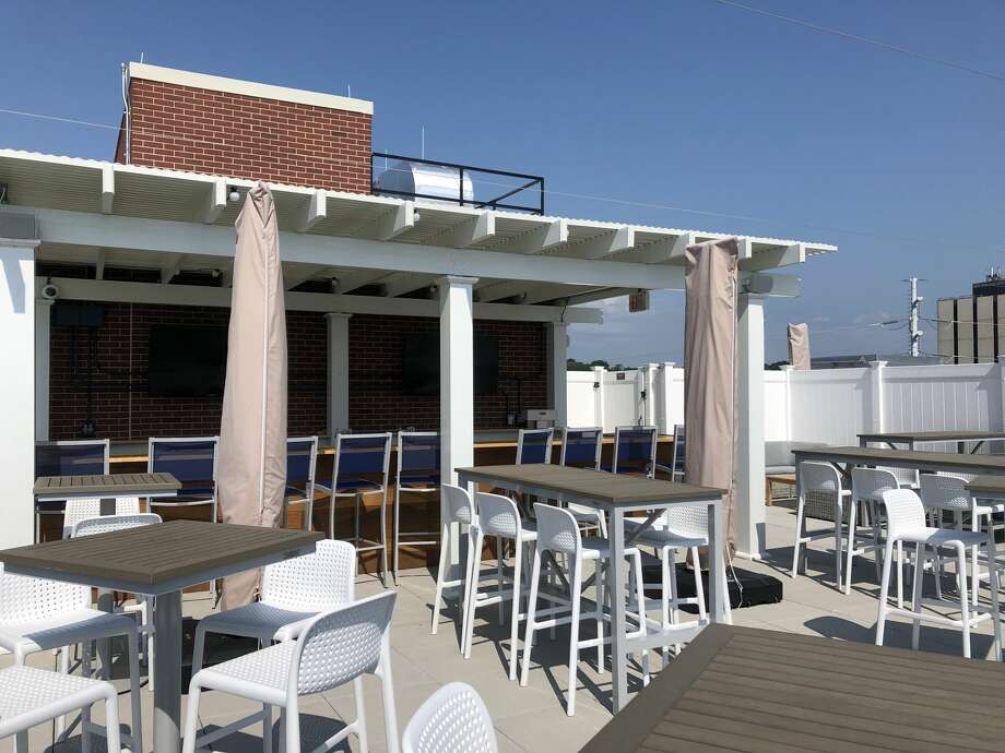 SoNo Sky Rooftop opens on Friday, August 9 at the new Residence Inn by Marriott at 45 Main Street in Norwalk. Photo: SoNo Sky Rooftop