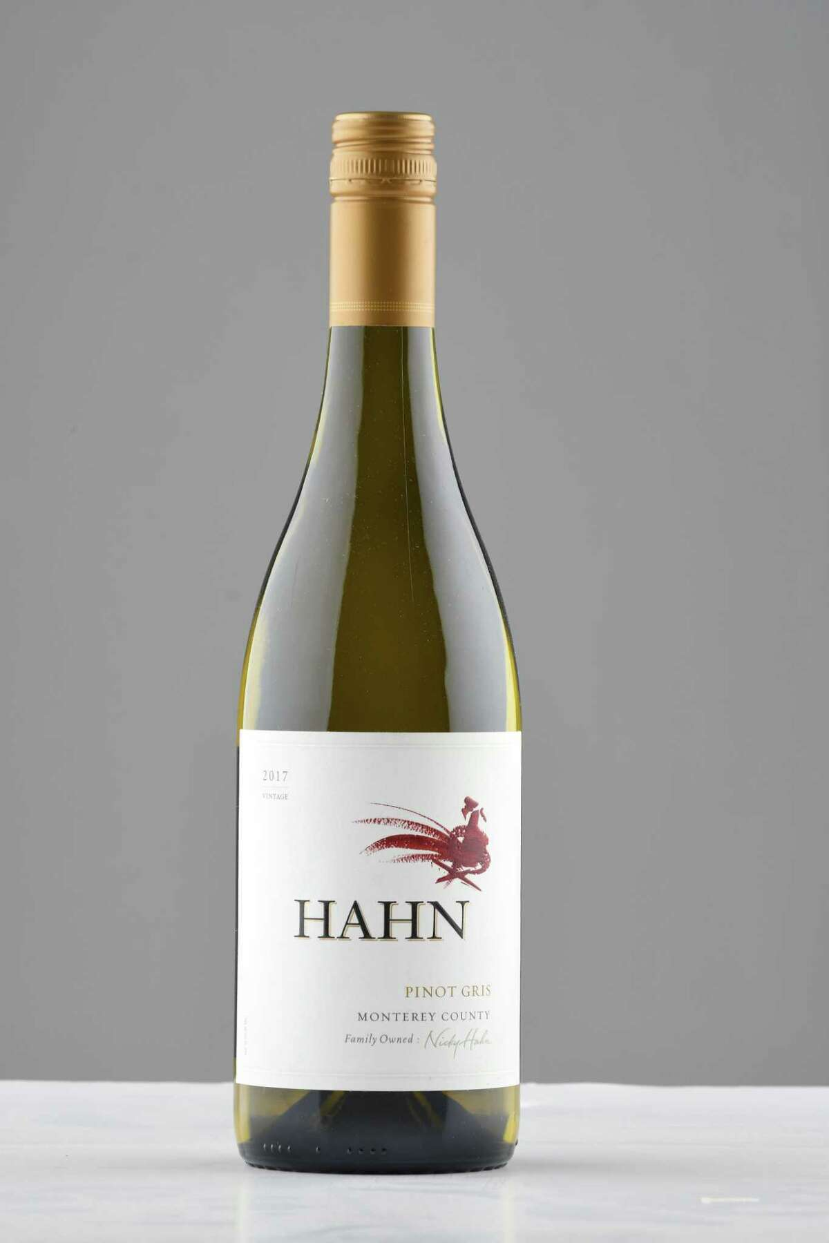 Hahn pinot gris on Tuesday, Dec. 4, 2018, at the Times Union in Colonie, N.Y. (Will Waldron/Times Union)