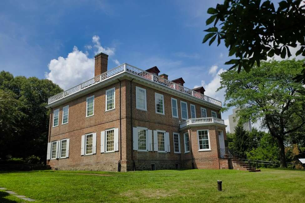 A view of the Schuyler Mansion on Monday, July 29, 2019, in Albany, N.Y. (Paul Buckowski/Times Union)