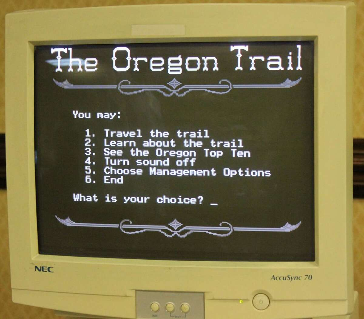 """Since the """"Oregon Trail"""" game's 1971 inception, more than 65 million copies have been sold, and it is considered to be the most widely distributed educational game of all time. Even 48 years later, nostalgic adults continue to scour the Internet for versions of Oregon Trail that can be played in-browser."""