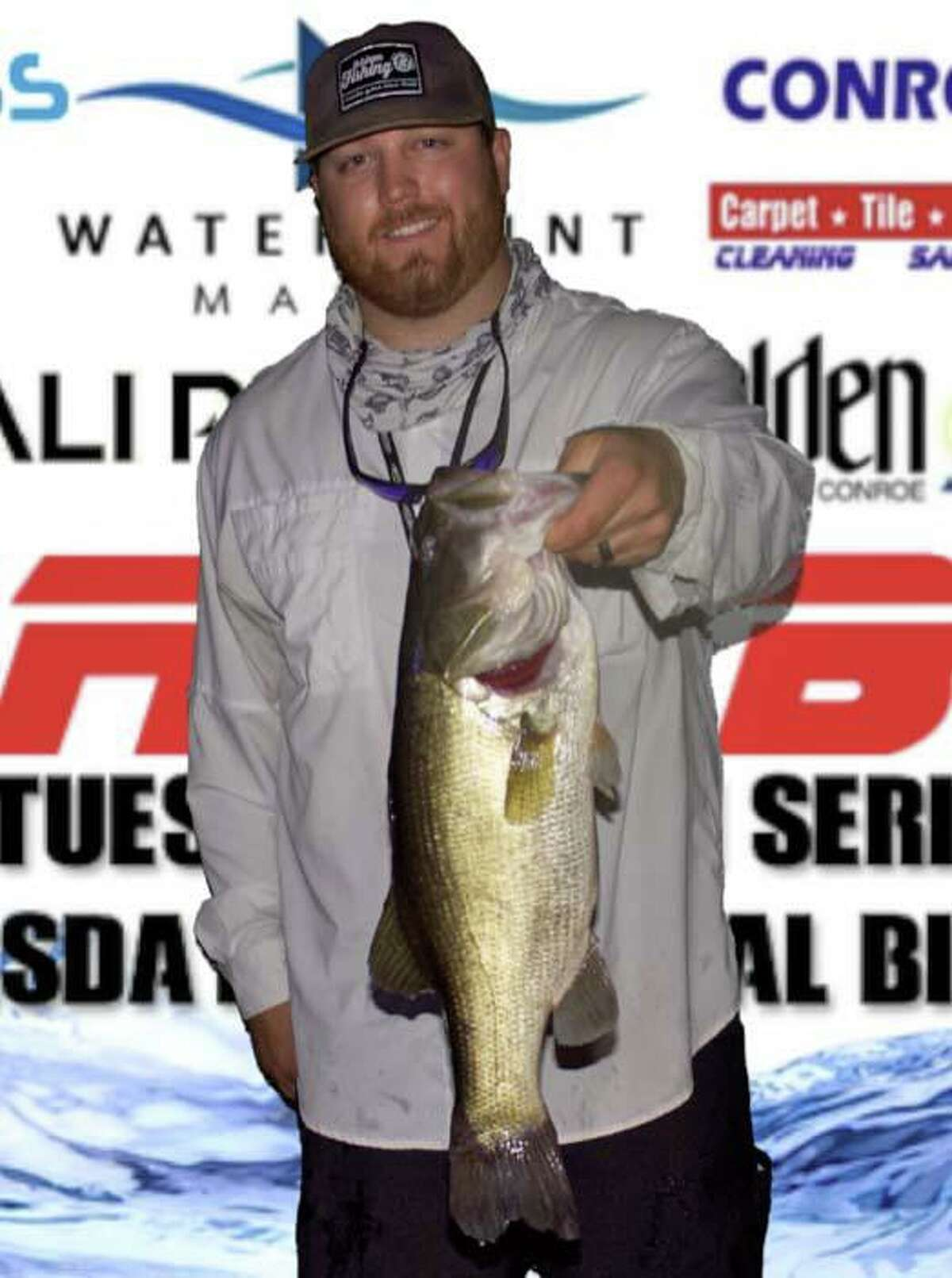 Bo Brown came in second in the CONROEBASS Thursday Big Bass Tournament with a bass weighing 5.66 pounds.
