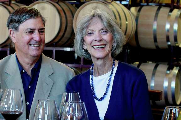 Richard and Bunny Becker founded Becker Vineyards in Stonewall. Bunny Becker died Monday.