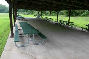 File photo of Clatter Valley Park in New Milford. Wednesday, August 7, 2019, in New Milford, Conn.