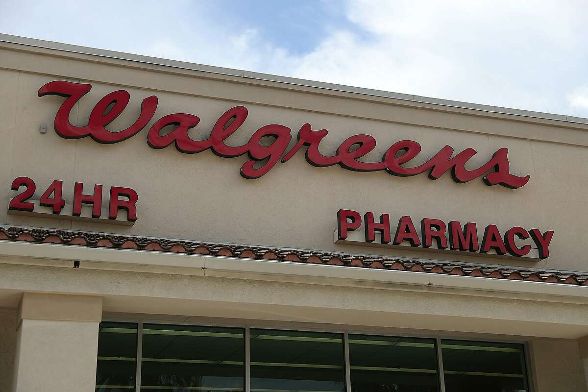 MIAMI, FLORIDA - AUGUST 07: A Walgreens sign is seen out side of a store on August 07, 2019 in Miami, Florida. Walgreens announced plans to close 200 of its approximately 9,560 American stores. (Photo by Joe Raedle/Getty Images)