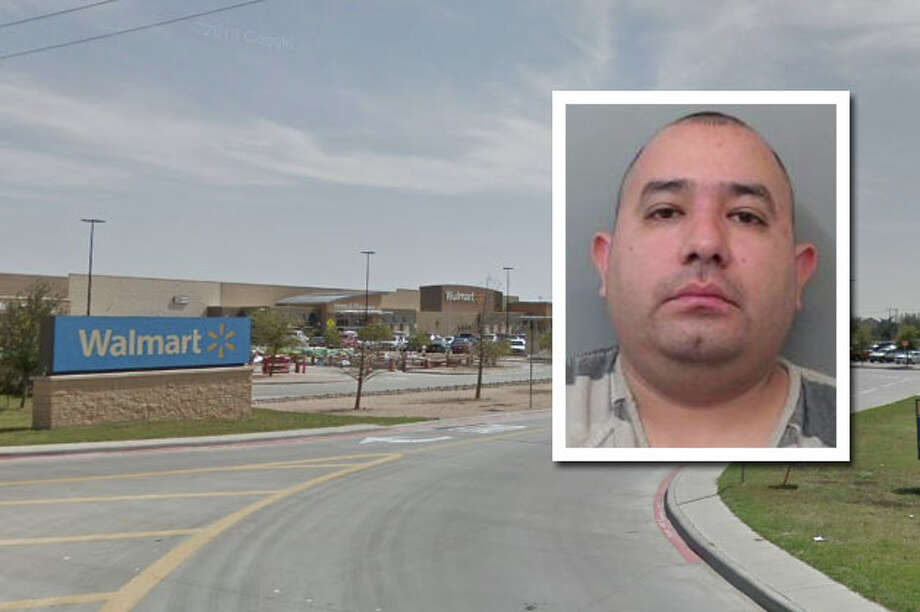 Laredo police arrested a man who had made threats against a local Walmart employee. Photo: Courtesy