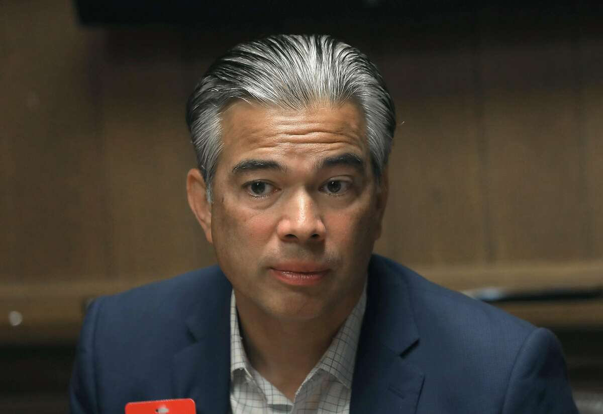 California State assembly member Rob Bonta answers questions duringan editorial board meeting at the San Francisco Chronicle on Wednesday, Aug. 7, 2019 in San Francisco, Calif.
