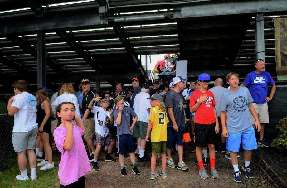 Little League Baseball Eastern Regional Tournament action between Madison and Maine in Brsitol, Conn., on Wednesday August 7, 2019. Photo: Christian Abraham / Hearst Connecticut Media / Connecticut Post