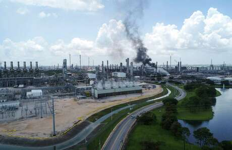 Exxon Mobil's Baytown plant is still operating at lower production rates a week after an explosion at the massive petrochemical facility.