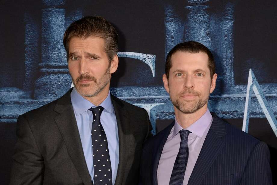 David Benioff and D.B. Weiss. Photo: Jeff Kravitz