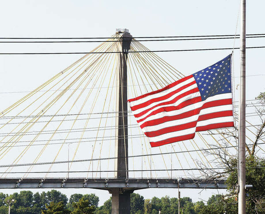 Many public and private places across the area were flying the American flag at half staff on Tuesday in memory of the victims of last weekend's mass shooting in El Paso, Texas, and Dayton, Ohio. Out of sheer coincidence, Tuesday was also the date on which the United States exploded the atomic bomb on Hiroshima, Japan, in 1945 during World War II.