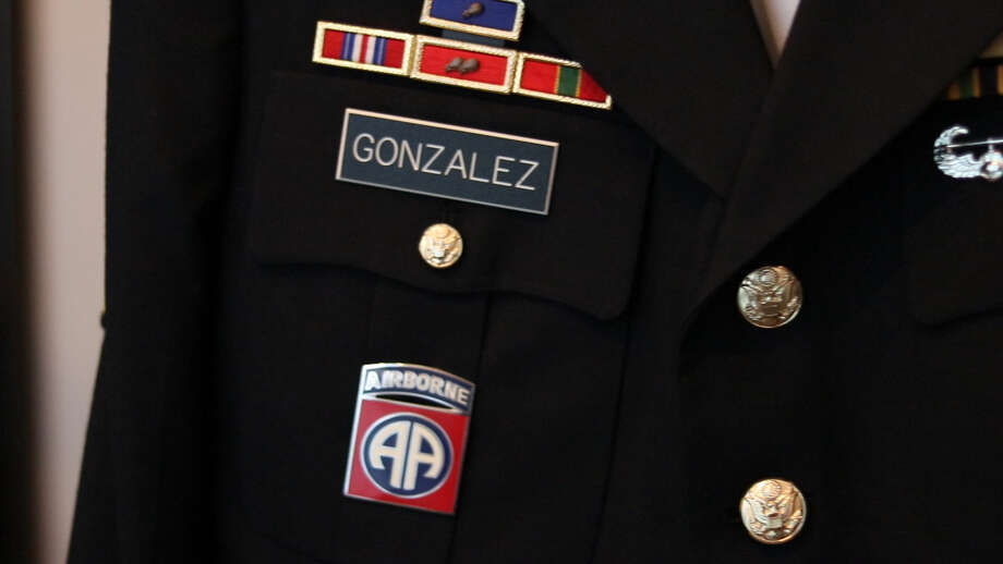 Gonzalez's time in the army played a significant role in what ultimately led to his journey with CBD and becoming a business owner. Photo: Samantha Lopez, Houston Chronicle
