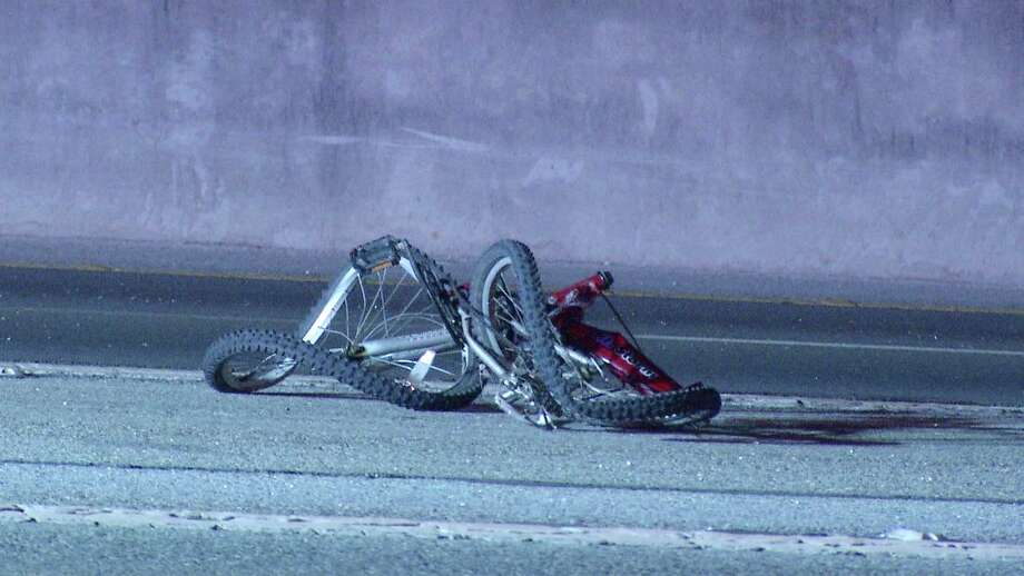 A bicyclist was killed Wednesday night after he was struck by car late Wednesday night, according to police. Photo: Ken Branca