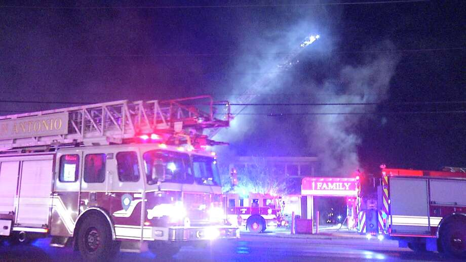 More than 100 firefighters responded to a 2-alarm fire at a family medical practice on the city's Northeast Side early Thursday morning, officials said. Photo: Ken Branca