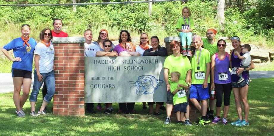 Participants at last year's Butterfly 5K Road Race for Rachel are shown. The event is Sunday at Haddam-Killingworth High School, 95 Little City Road, Higganum. Class of '94 graduate Rachel (Oberdorff) Corbin, who survived a stage 4 Hodgkins lymphoma diagnosis as a 12-year-old, passed away May 4. Photo: Contributed Photo