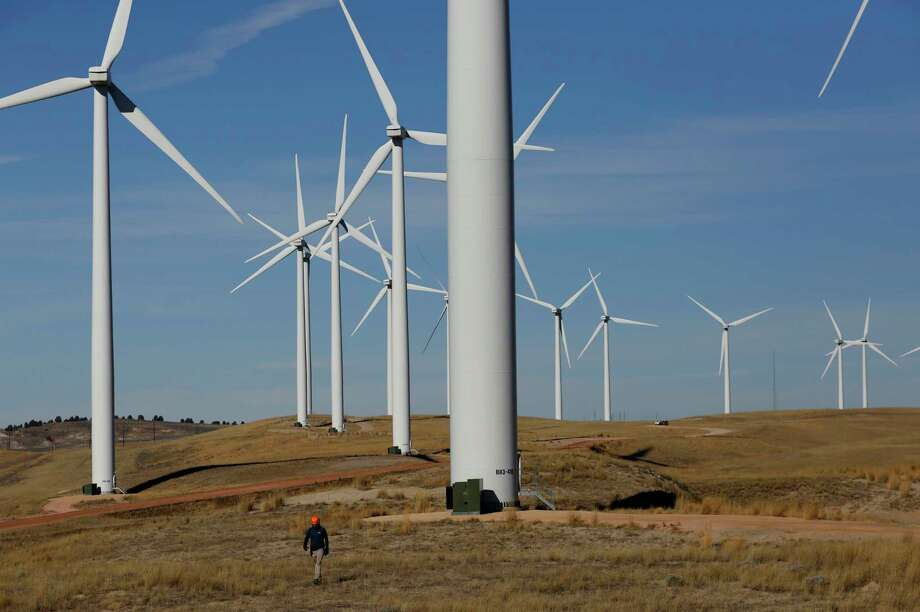 Dallas-based wind developer Tri Global Energy announced the sale of the wind energy assets of Changing Winds Renewable Energy Project to Invenergy, a wind developer based in Chicago. Photo: Alan Rogers, MBR / Associated Press / Alan Rogers, Casper Star-Tribune