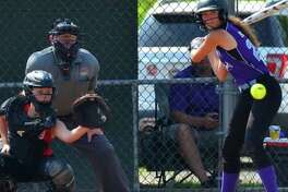 Bill Webster umpires the Junior League Softball Little League World Series in Kirkland, Wash.