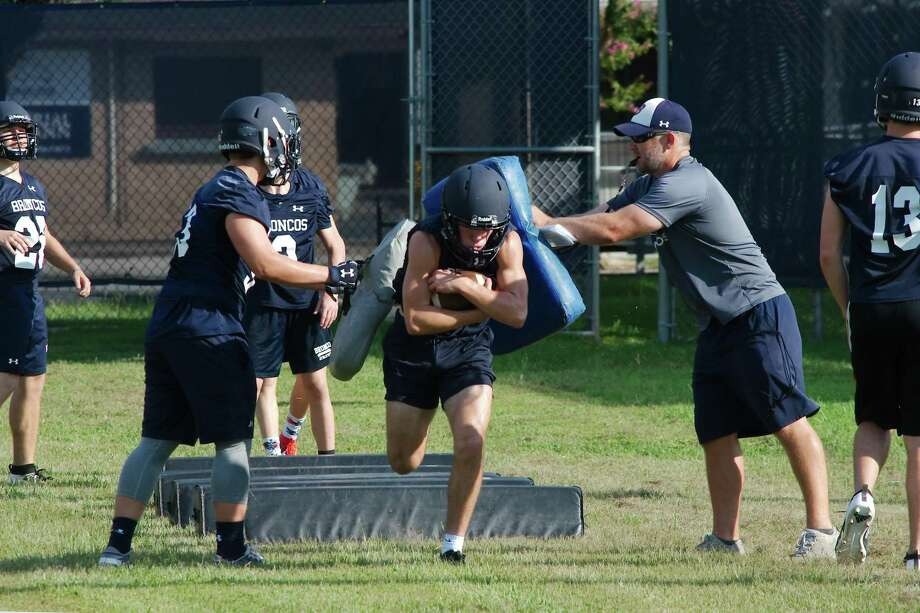 Bay Area Christian, shown in August football workouts, will attempt to make another lengthy run in the playoffs this fall. Photo: Kirk Sides / Staff Photographer / © 2019 Kirk Sides / Houston Chronicle
