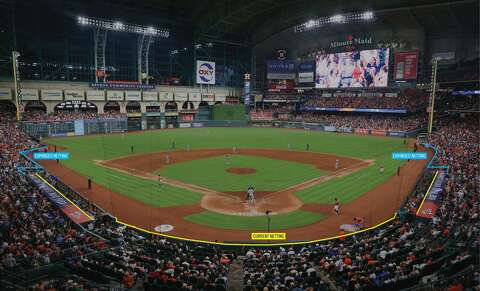 Astros To Extend Protective Netting At Minute Maid Park Houston