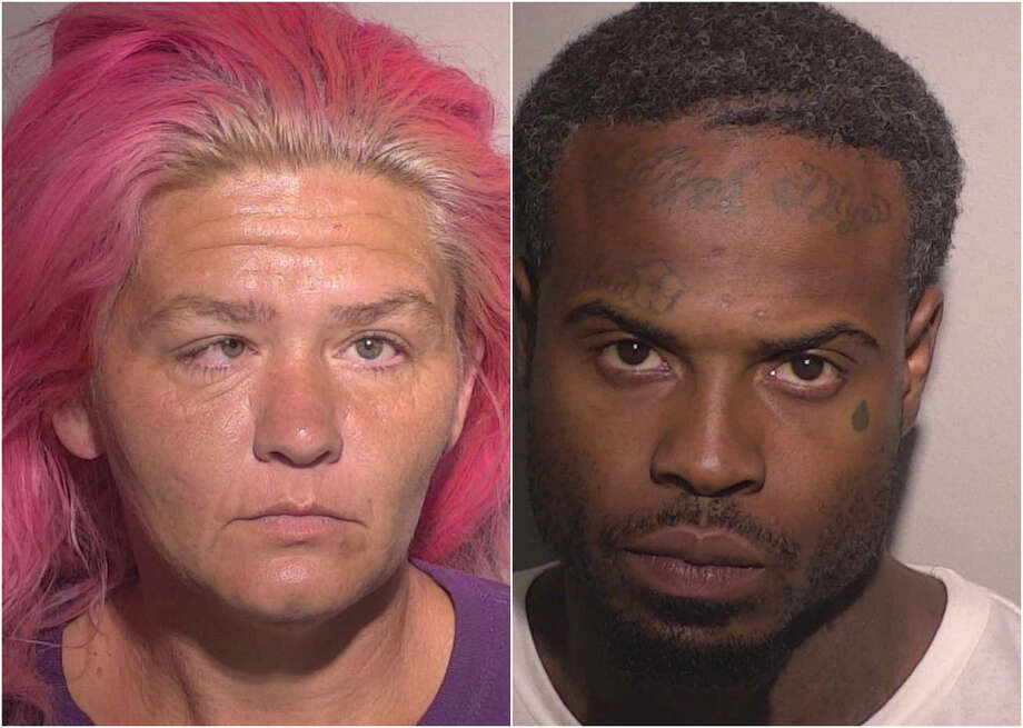 Tony Lee Garner, 27, and Sherry Jean Millings, 26, are each charged with two burglary of a motor vehicle and one felony possession of a controlled substance. Photo: Missouri City Police