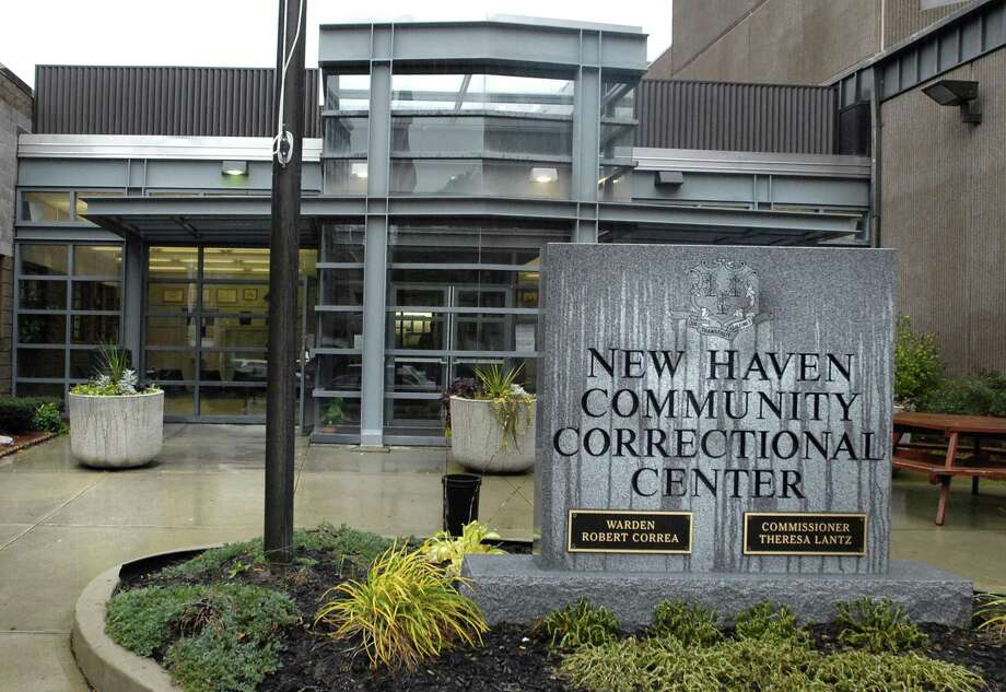 New Haven Community Correctional Center main entrance. Photo: File Photo