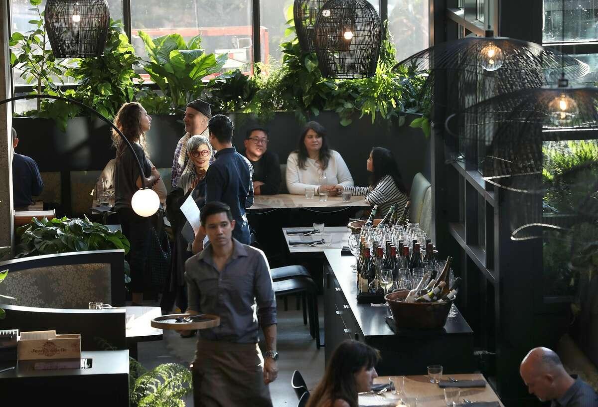 View of Pim Techamuanvivit 's new second San Francisco restaurant Nari on Wednesday, Aug. 7, 2019 in San Francisco, Calif.