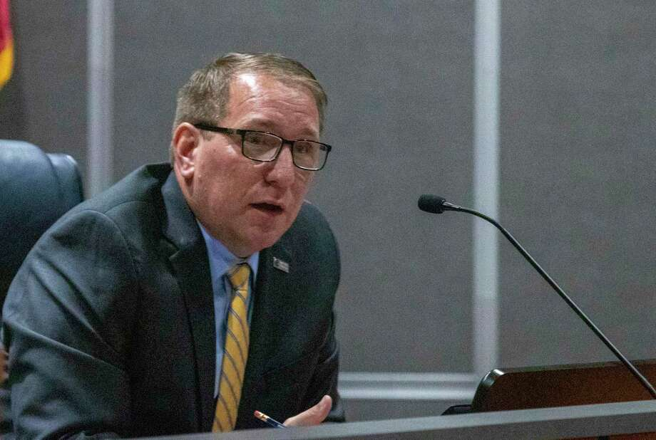CISD superintendent Curtis Null speaks during a CISD Board of Trustees public budget hearing Tuesday, August 6, 2019 at CISD administration building in Conroe. Photo: Cody Bahn, Houston Chronicle / Staff Photographer / © 2019 Houston Chronicle