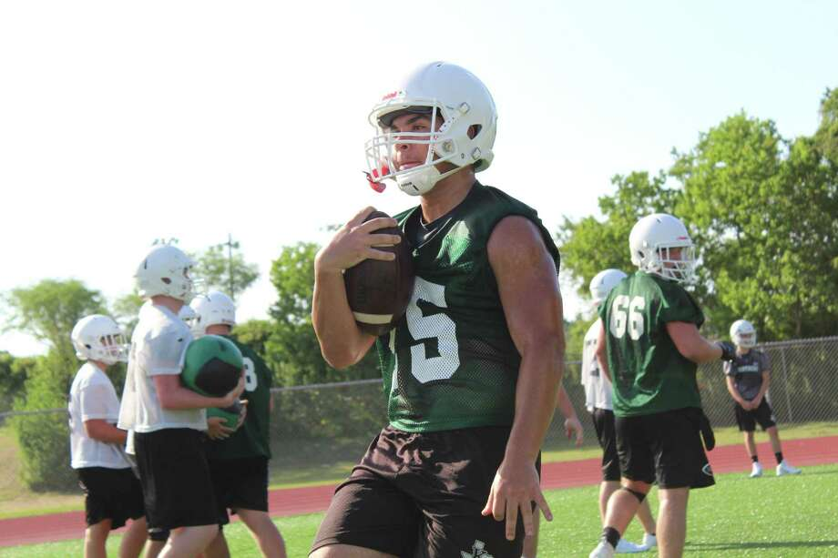 Kingwood Park held its first day of fall camp on Aug. 5. The Panthers are looking to win their first playoff game since 2014. Photo: Marcus Gutierrez Staff Photo