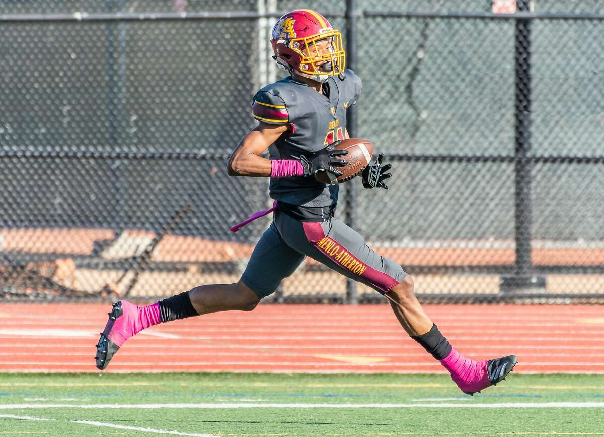 Menlo-Atherton's Troy Franklin is is ranked the No. 2 junior recruit in the state by 247 Sports.