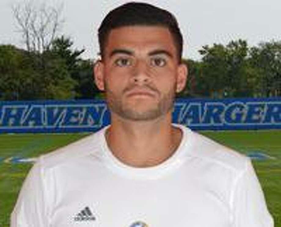 Edwin Carvajal, a 2010 Wilton High graduate, has been named head coach of the Wilton boys soccer team. Carvajal is shown during his college career at the University of New Haven. Photo: Contributed Photo / University Of New Haven Men's Soccer