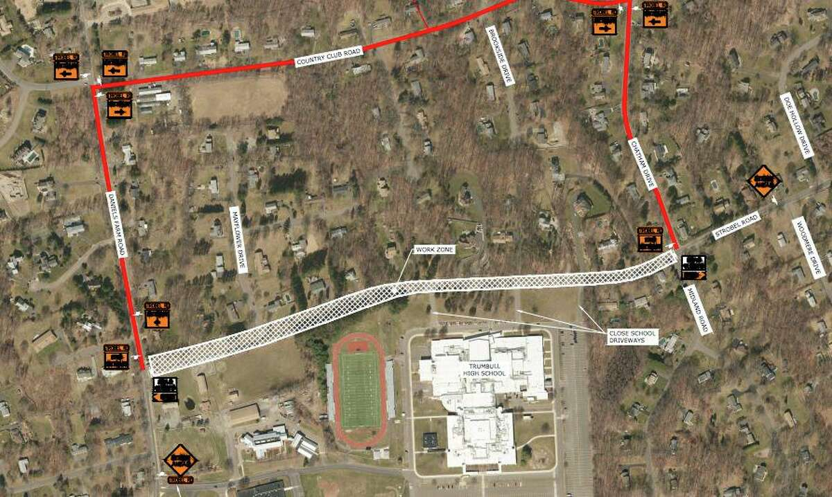 The planned Strobel Road reconstruction project is scheduled to begin later this month.