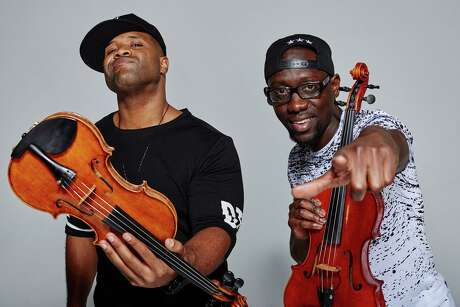 "BLACK VIOLIN: CPTV's music series ""The Kate"" will film at The Katharine Hepburn Cultural Arts Center in Old Saybrook for later broadcast on PBS stations across the country. This one will feature Black Violin, aka classically trained musicians Wilner ""Wil B"" Baptiste (viola) and Kevin ""Kev Marcus"" Sylvester (violin), who met as high school orchestra nerds; today they play genre-bending music, radically fusing hip-hop and pop with classical. Keep an eye out for broadcast date."
