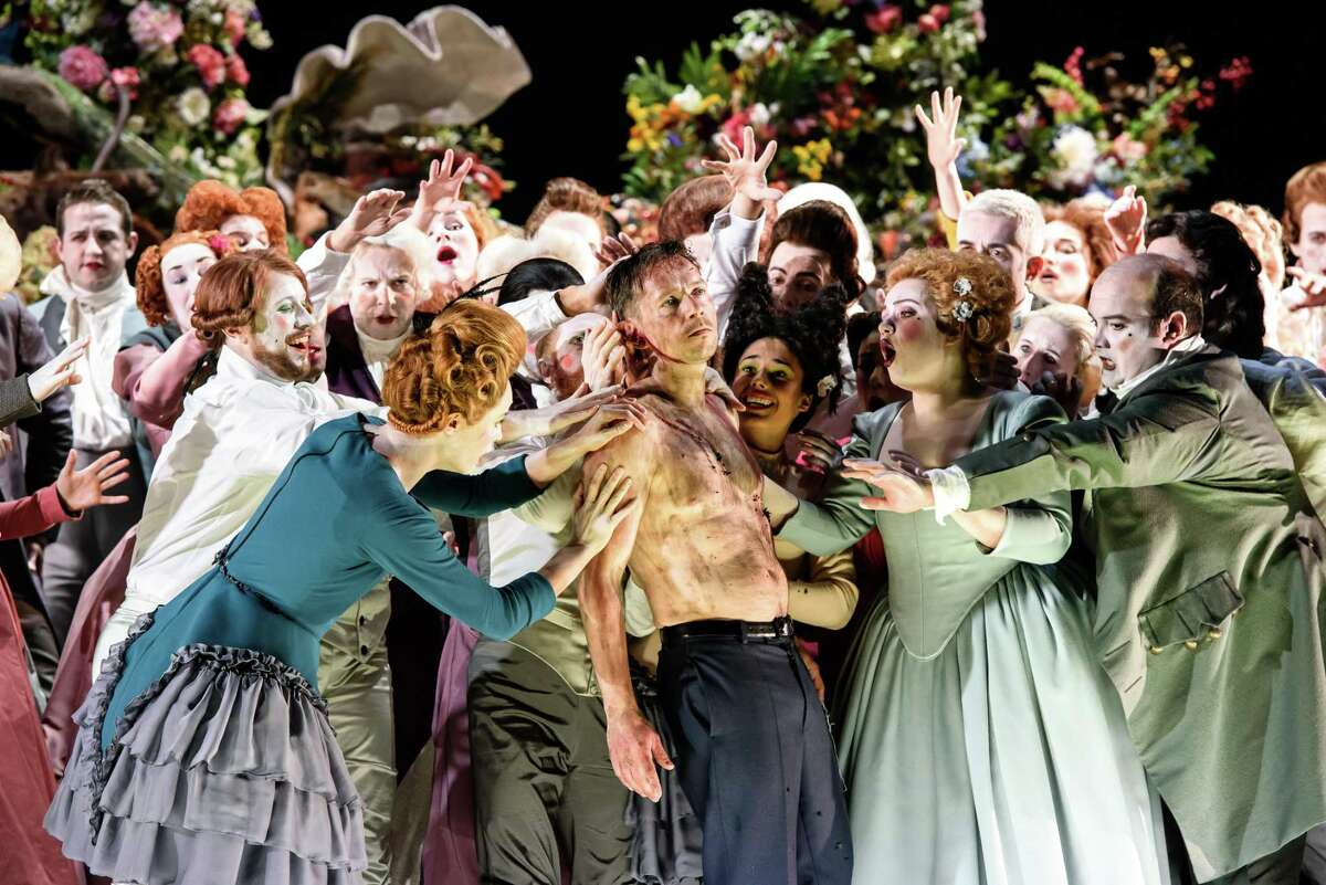 The cast of Houston Grand Opera's 'Saul'