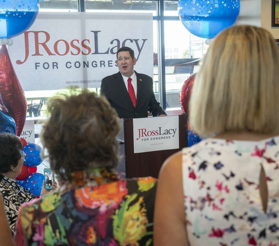 J. Ross Lacy announces 08/08/19 he is seeking the Republican nomination for the District 11 Congressional seat. Tim Fischer/Reporter-Telegram Photo: Tim Fischer/Midland Reporter-Telegram