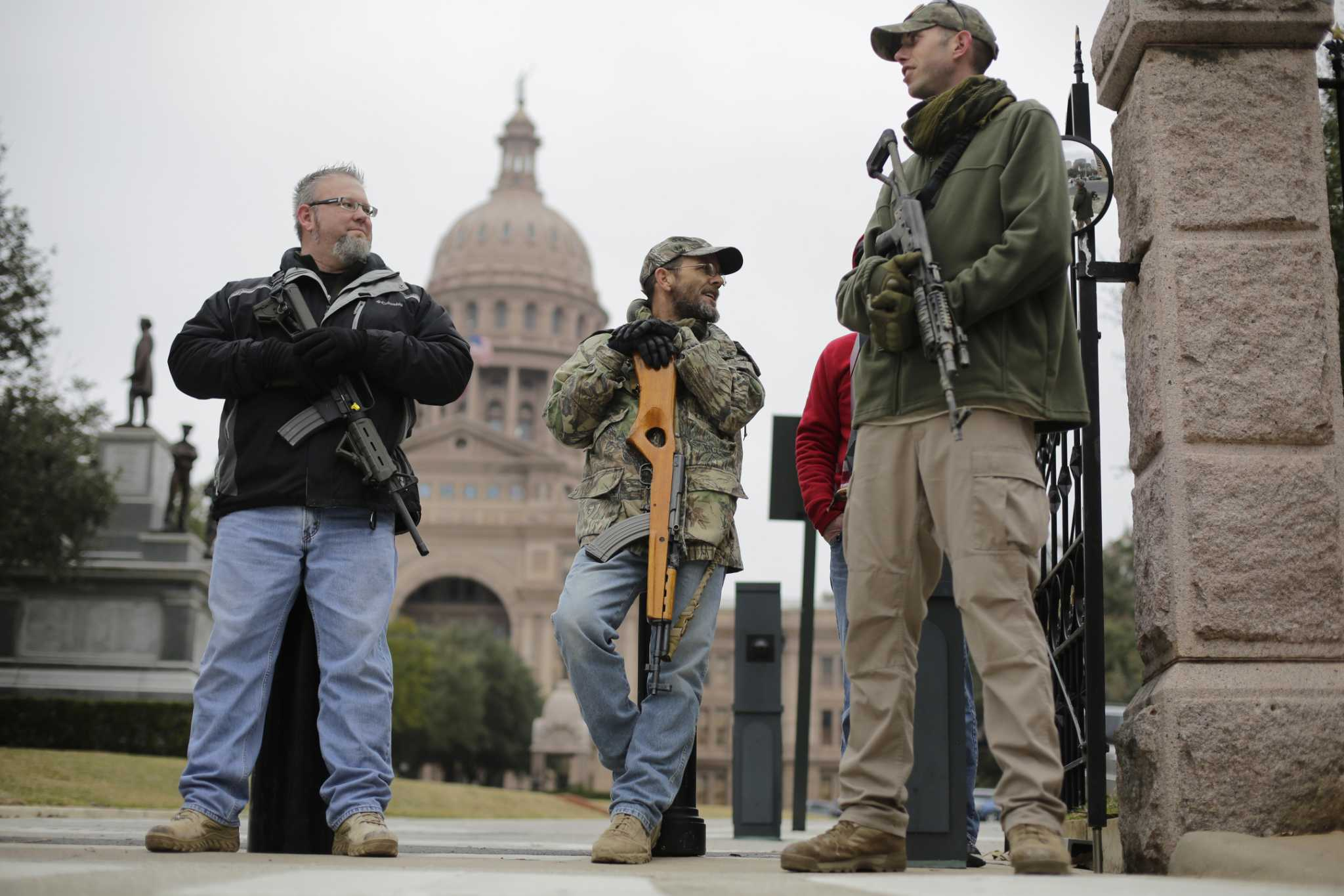 Assault Style Guns In Public Scare Some Texans Will That