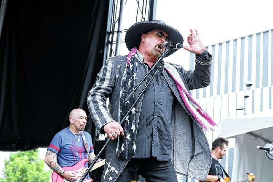 Eddie Montgomery of Montgomery Gentry performs June 6 in Nashville, Tennessee, during the first day of the 2019 CMA Music Festival. Montgomery Gentry will be in concert tonight at the Illinois State Fair in Springfield. Tonight's concert admission is free. Photo: Terry Wyatt | Getty Images