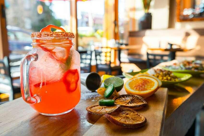 Agave Cocina and Tequilas Sun-Thurs 3:30-6 p.m. & 9 p.m.-close, Fri-Sat 3:30-6 p.m. & 10 p.m.-close; Mexican ($2-$6 bites, $8 margaritas, 30% off tequila flights)